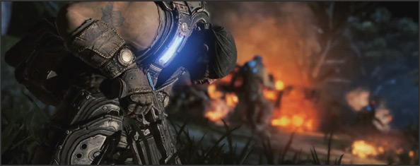E3 2011 La presentación de Gears of War 3 en acción