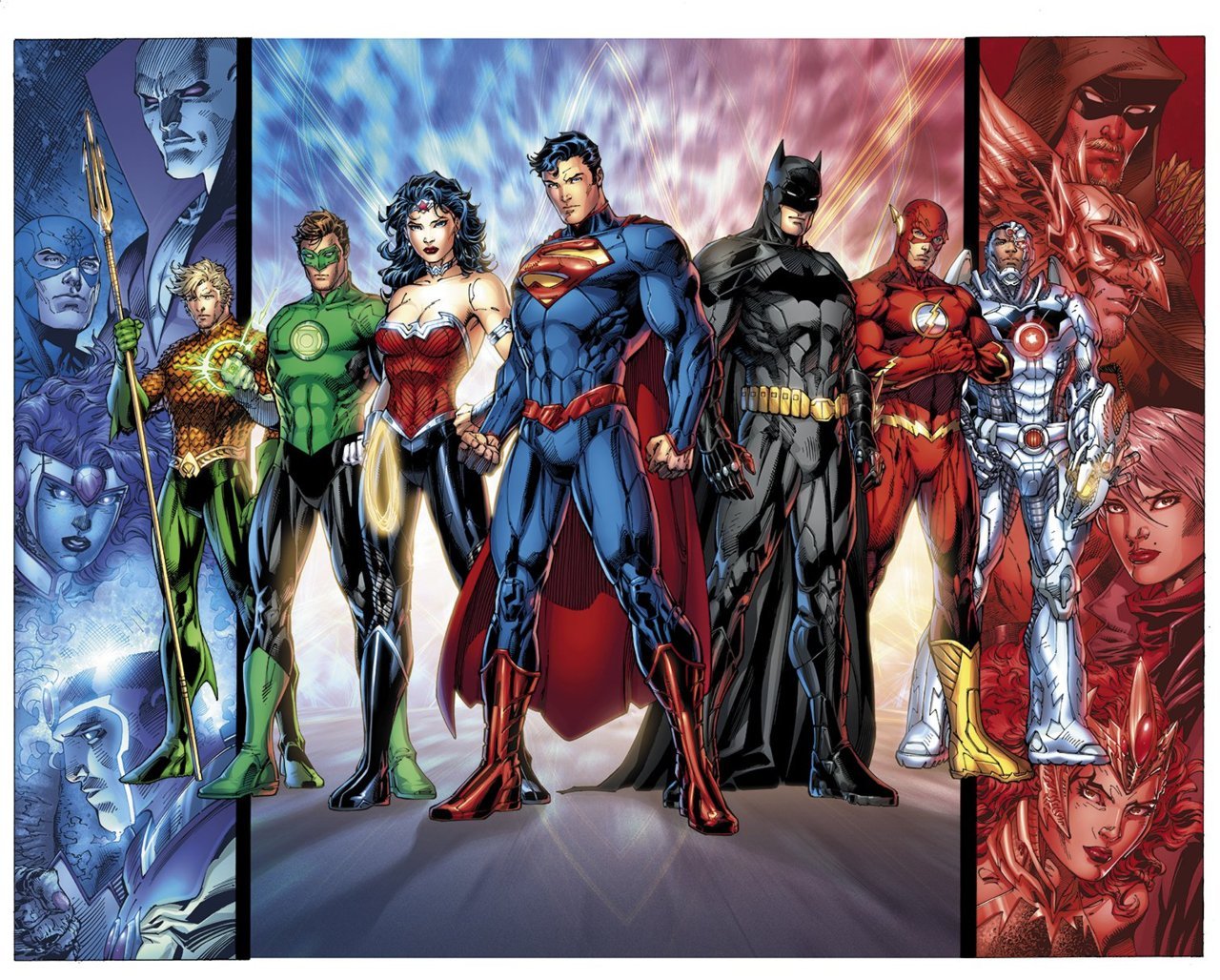 The New JLA  Costumes