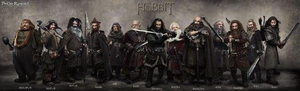 Con ustedes, los 13 enanos de 'El Hobbit'
