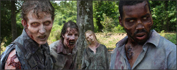 Diseño de vestuario de los zombies de The Walking Dead