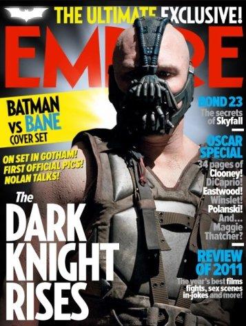 Portada de Empire con Bane