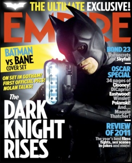 Portada de Empire con Batman