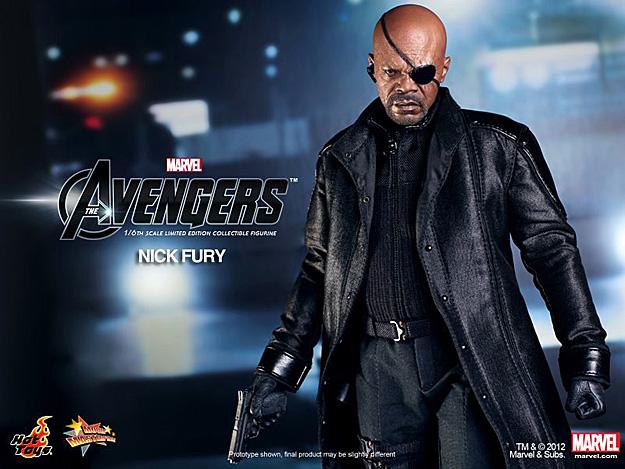 Nick Fury (The Avengers) por Hot Toys (1)
