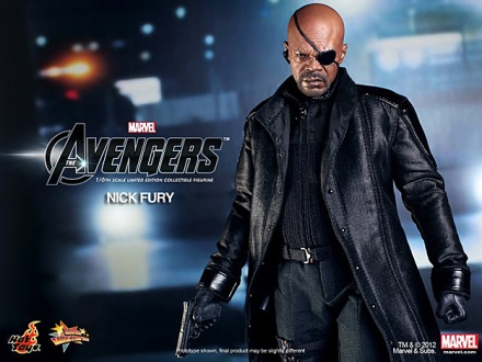 Nick Fury (The Avengers) por Hot Toys (1)