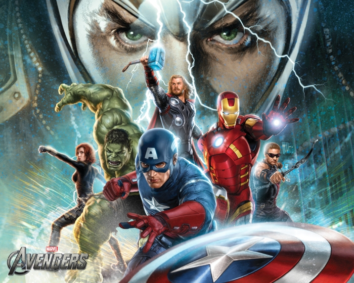 Vean estos wallpapers ilustrados para The Avengers