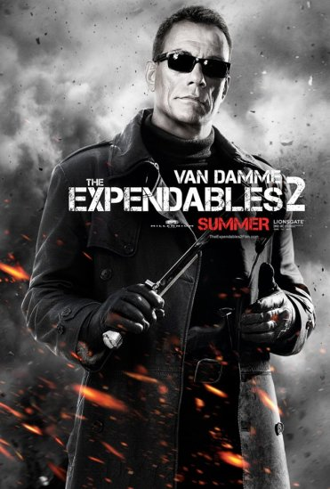 EXPENDABLES - VAN DAMME