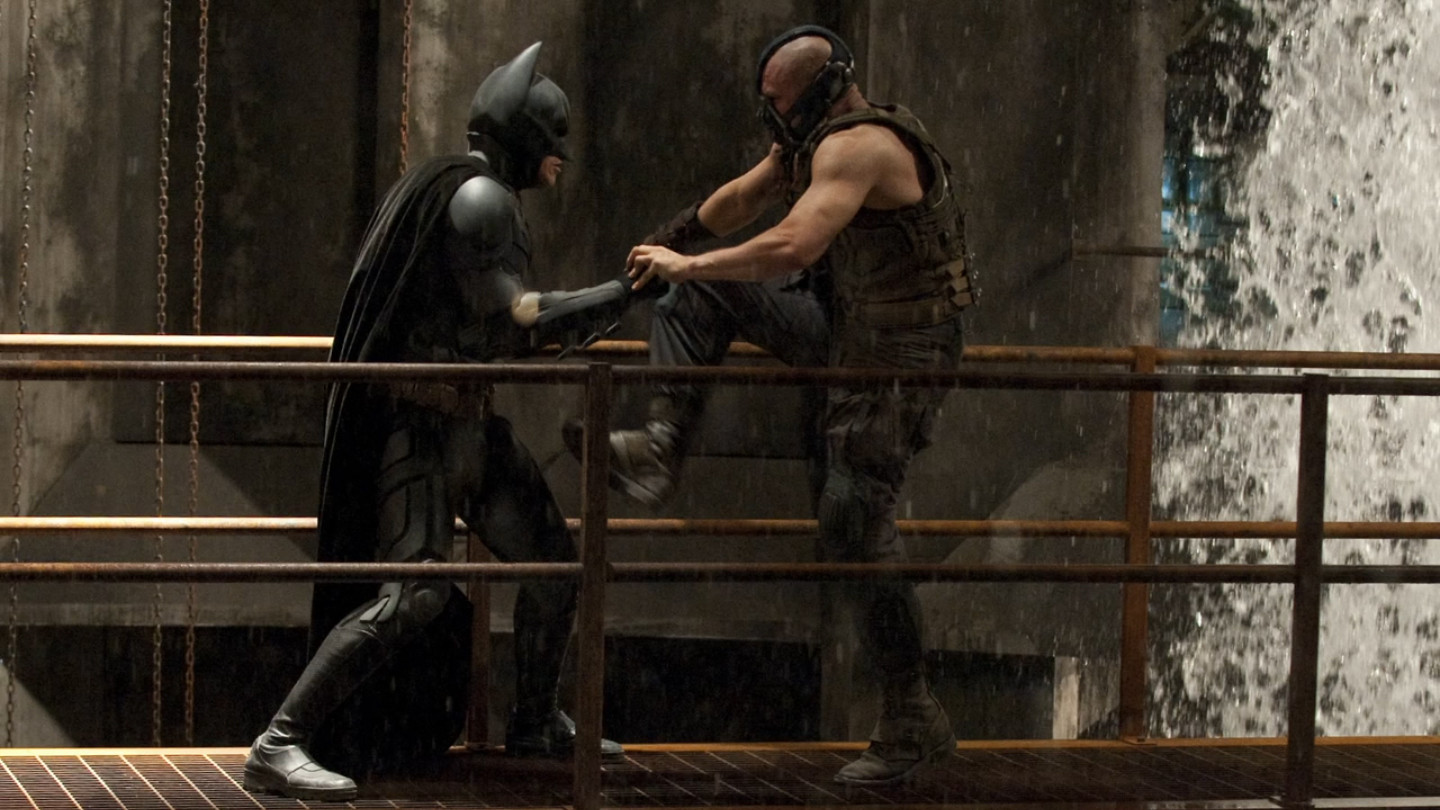 The Dark Knight Rises     Batman vs Bane  24 The Dark Knight Rises Batman Vs Bane
