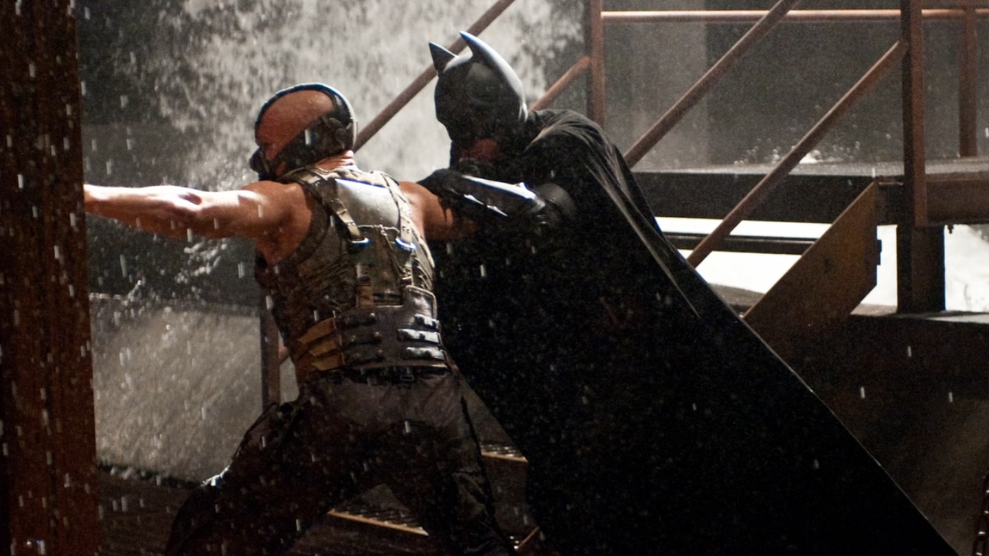 The Dark Knight Rises     Batman vs Bane  3 The Dark Knight Rises Batman Vs Bane