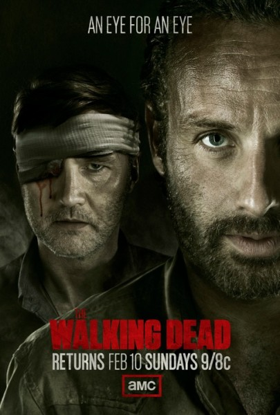 walking poster temporada 3