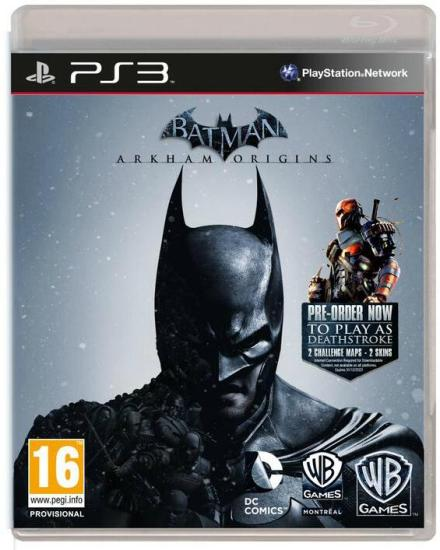 Arkham Origins cover