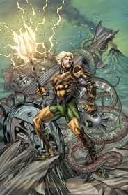 Aquaman #28 por Richard Horle