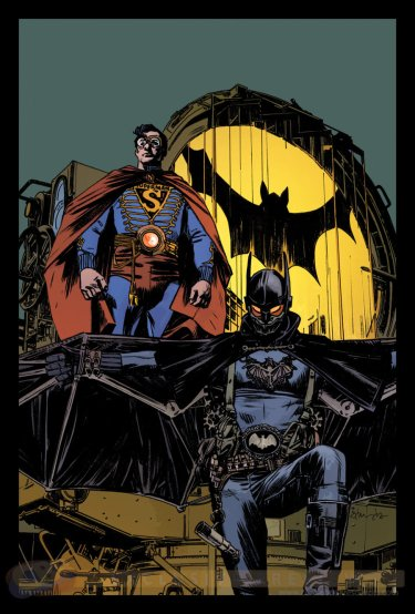 Batman-Superman por Tommy Lee Edwards
