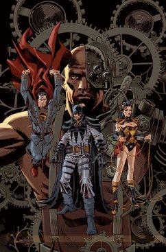 Justice League #28 por Dan Panosian