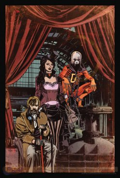 Justice League Dark #28 por Tommy Lee Edwards