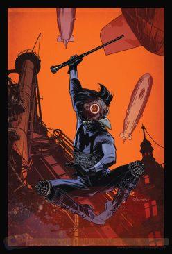 Nightwing #28 por Tommy Lee Edwards