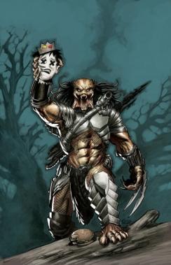 Archie vs. Predator 1 cover by Eric Powell