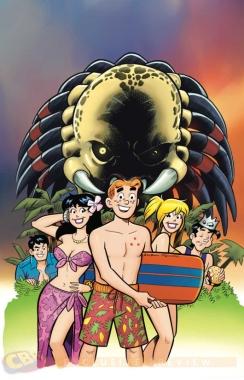 Archie vs. Predator 1 cover by Fernando Ruiz