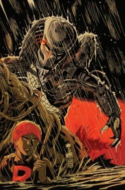 Archie vs. Predator 1 cover by Francesco Francavilla