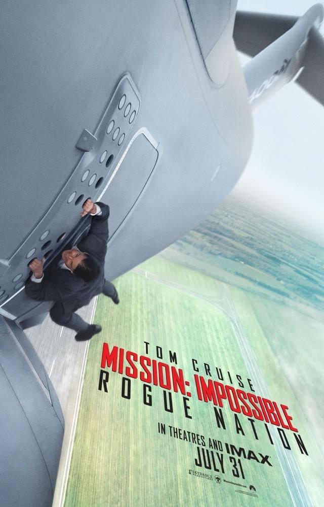 Con ustedes, el tráiler de 'Mission: Impossible – Rogue Nation'