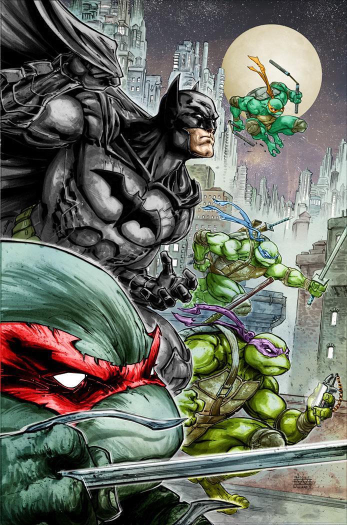 crossover batman tortugas ninja