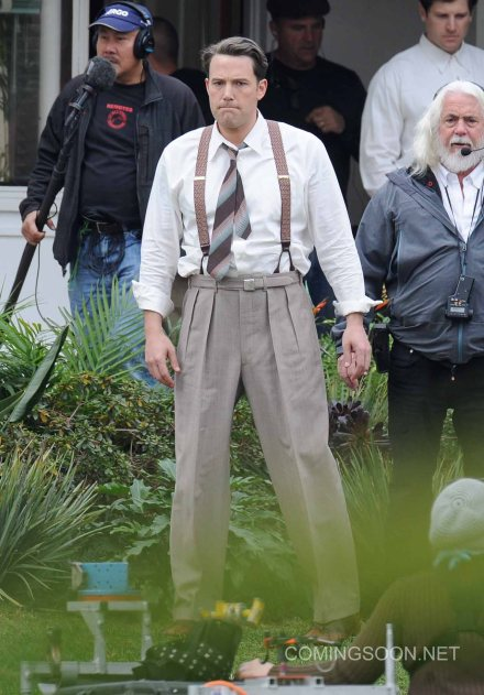 Actor Ben Affleck spotted on the set of 'Live By Night' filming in costume Featuring: Ben Affleck Where: Long Beach, California, United States When: 18 Jan 2016 Credit: Cousart/JFXimages/WENN.com