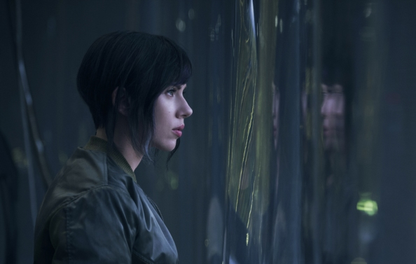 Scarlett Johansson plays The Major in Ghost in the Shell from Paramount Pictures and Storyteller Distribution Co. in theaters March 31, 2017.